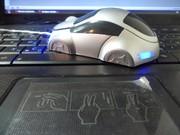 Компьтераная проводная мышка машинка серебряная,  купить в Украине