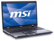 По запчастям ноутбук MSI CX600 (разборка).