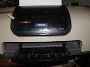 В связи с выездом продам Принтер EPSON St C43SX и комплектующие