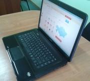 Ноутбук HP Compaq CQ58 (4 ядра,  4 гига,  танки).